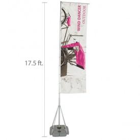 Wind Dancer MX Display Flag Set - 17.4 ft.