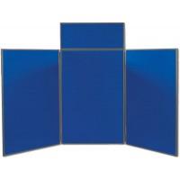 Horizon 3 Tabletop Folding Panel Display - 5ft. 10in. wide