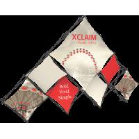 Xclaim 14ft. 10 Quad Pyramid Fabric Pop Up Display Kit 03