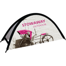 Stowaway Small Tension Outdoor Banner Stand