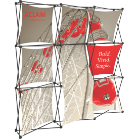 Xclaim 8ft. Wide Full Height Pop Up Display Kit 05