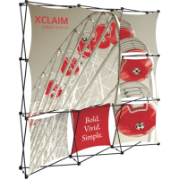 Xclaim 8ft. Wide Full Height Pop Up Display Kit 03