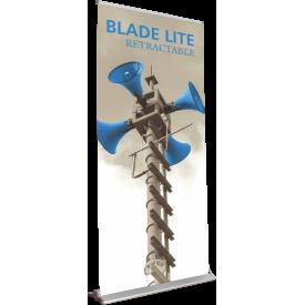 "Blade Lite 1000 Roll Up Retractable Indoor Banner Stand - 39.25"" wide"