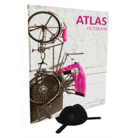 Atlas Outdoor Sign Holder Weighted Base