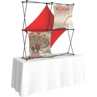 Xclaim 5ft. Wide Tabletop Pop Up Display Kit 03