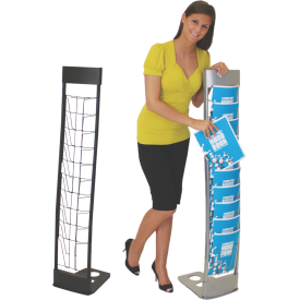Innovate Modular Literature Rack with 10 Pockets