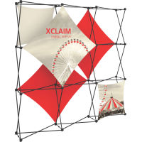 Xclaim 8ft. Wide Full Height Pop Up Display Kit 01