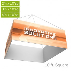 Formulate Essential Fabric Hanging Structure - 10 ft. Square