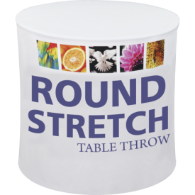 Round Stretch Full Color Dye-Sub Printed Table Covers
