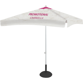 Square Promotional Umbrella - 8 ft. Wide Canopy