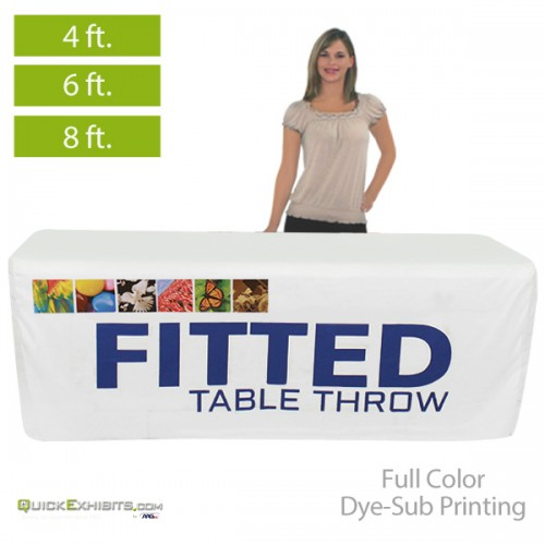 Fitted Printed Table Covers For 4 6 8 Ft Table Sizes