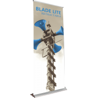 "Blade Lite 920 Roll Up Retractable Indoor Banner Stand - 36"" wide"