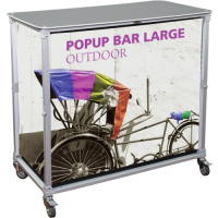 Portable PopUp Bar - Large
