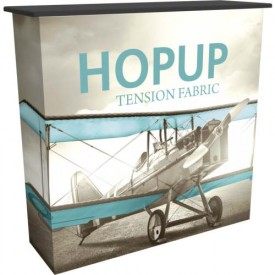 HopUp Counter with Tension Fabric Graphics