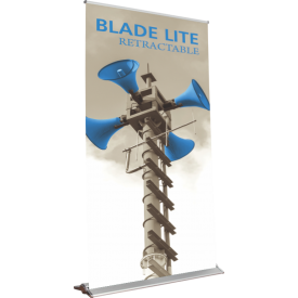 "Blade Lite 1500 Roll Up Retractable Indoor Banner Stand - 59"" wide"