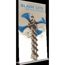 "Blade Lite 1500 Roll Up Retractable Indoor Banner Stand - 59"" wide"