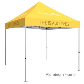 Zoom Standard 10ft. PopUp Tent Kit - Fully Printed Canopy
