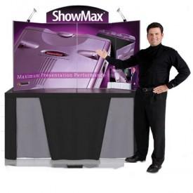 ShowMax Briefcase Tabletop Display