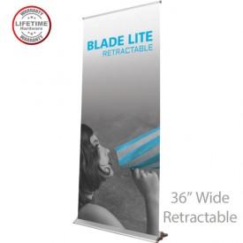 Blade Lite 920 Roll Up Retractable Indoor Banner Stand - 36in wide