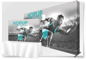 HOPUP TENSION FABRIC DISPLAYS