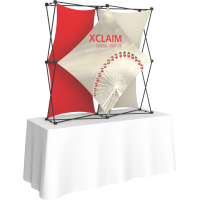 Xclaim 5ft. Wide Tabletop Pop Up Display Kit 02