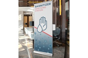 The BANNITIZER™ Sanitizing Station
