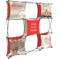 Xclaim 8ft. Wide Full Height Pop Up Display Kit 04