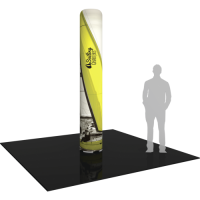 "Inflatable Display Large Column 117.5"" tall with Graphics"