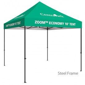Zoom 10ft. PopUp Tent Kit - Fully Printed Canopy