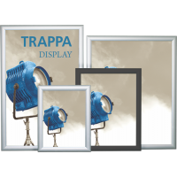 Trappa Poster Frame Displays - Quick Change Flip-Up Snap Edges