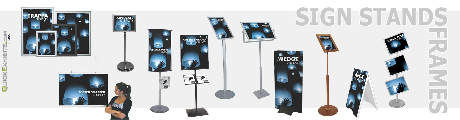 Sign Stands & Frames