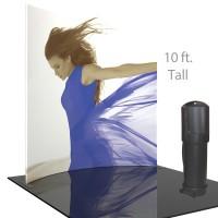 Formulate Master 10 ft. HC3 Horiz. Curve 10 ft. Tall Fabric Backwall
