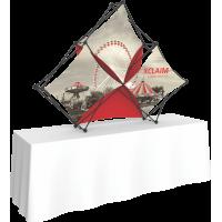 Xclaim 8ft. Wide Tabletop Pyramid Pop Up Display Kit 02