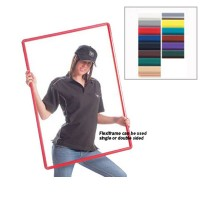 FlexiFrame Rigid Polyvinyl Poster Frames - Quick Change Slide-In