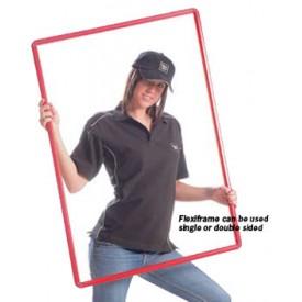 FlexiFrame Rigid Polyvinyl Poster Frames - Quick Change Slide-In