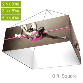 Formulate Essential Fabric Hanging Structure - 8 ft. Square