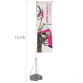 Wind Dancer LT Display Flag Set - 13.6 ft.