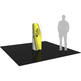 """Inflatable Display Small Column 55"""" tall with Graphics"""