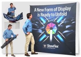 SHOWFLEX UMBRELLA DISPLAY