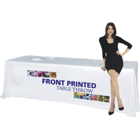 Front Printed Full Color Table Covers for 6 and 8 ft. Table Sizes