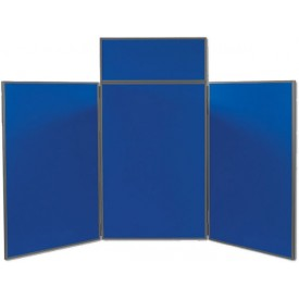 Horizon 3 Tabletop Folding Panel Display - 5ft. 10in. wide