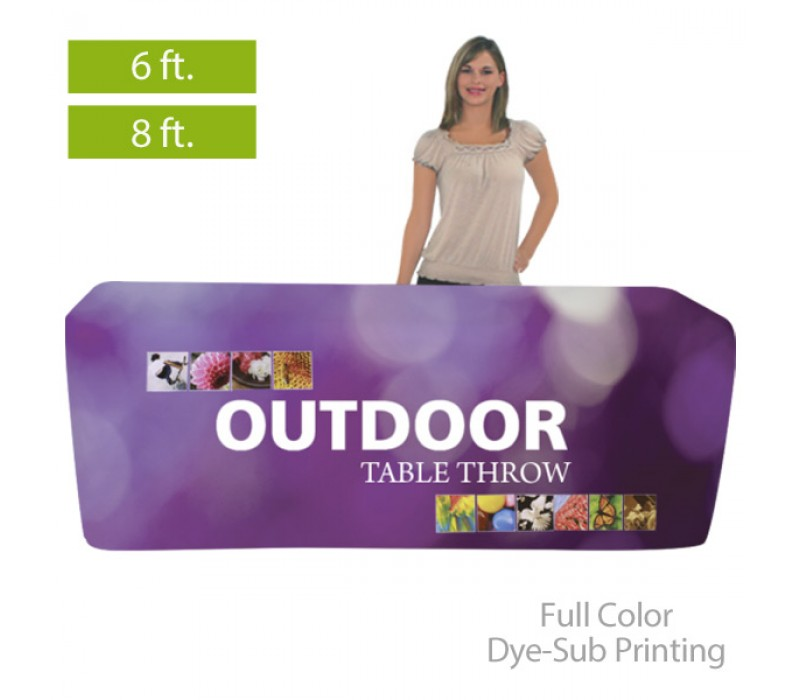 Outdoor Fitted Full Color Table Covers For 6 8 Ft