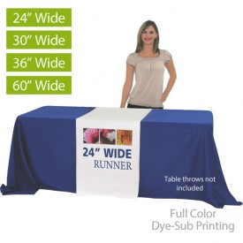 Table Runners Full Color Dye-Sub Printed