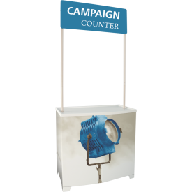 Campaign Demonstration Kiosk Counter