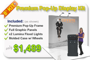 Coyote Popup Display Kit